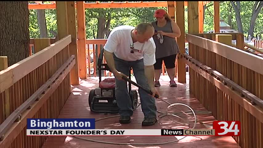 Nexstar Founder-s Day of Caring helps dozens of organization_30760048-159532