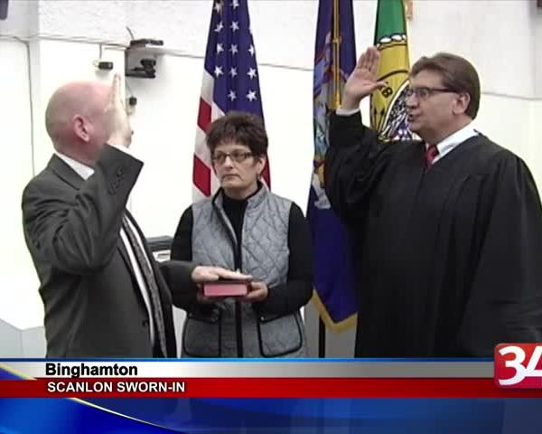 Scanlon sworn-into Binghamton City Council after tight race_76856452