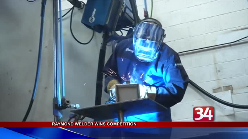 Raymond Corporation welder wins international competition_48842279
