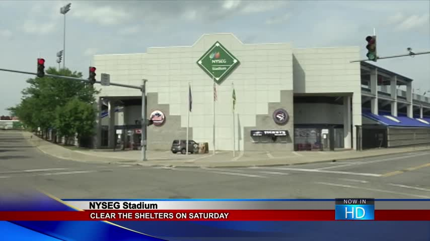 Clear the Shelters comes to NYSEG stadium this weekend_08848409