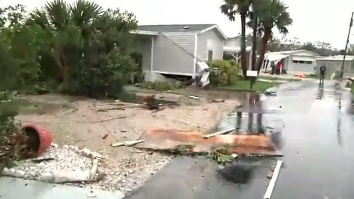 possible Tornado Damage 720