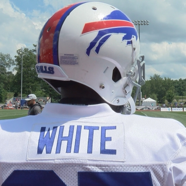 Tre White fulfills promise to his mom