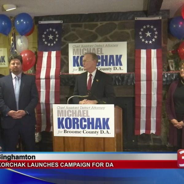 Korchak kicks of his campaign for DA