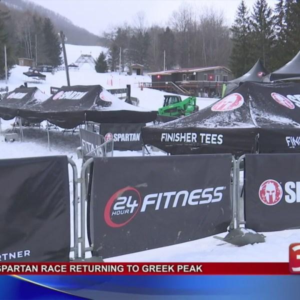 Spartan Race at Greek Peak