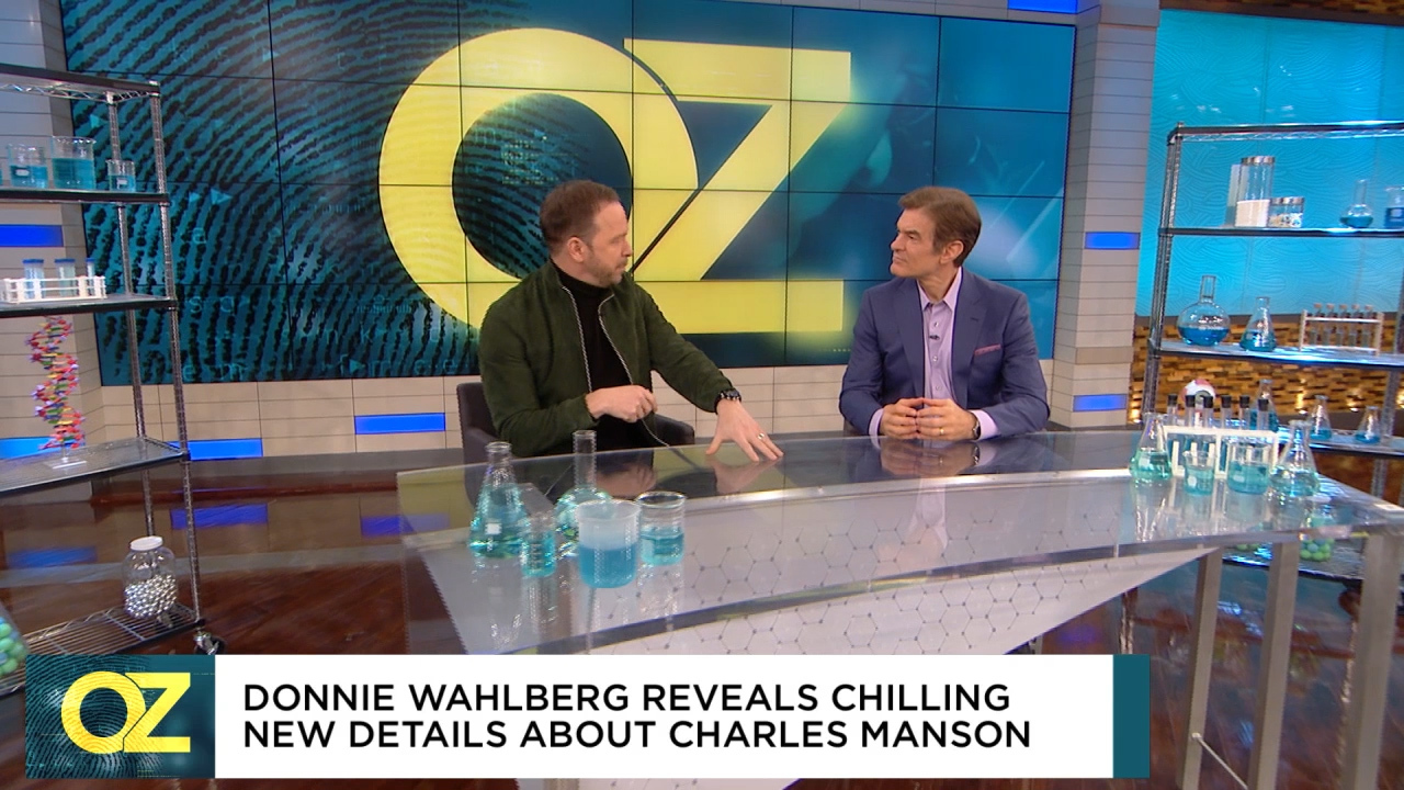 Wahlberg reveals details about Charles Manson