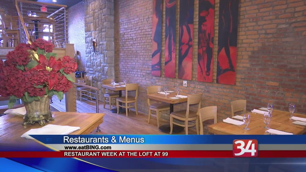 Binghamton Restaurant Week: Loft at 99
