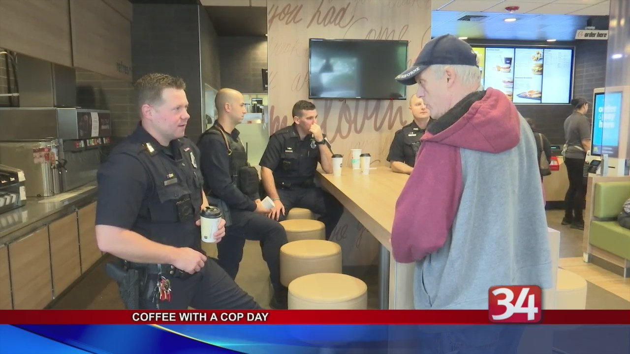 Coffee With A Cop Day