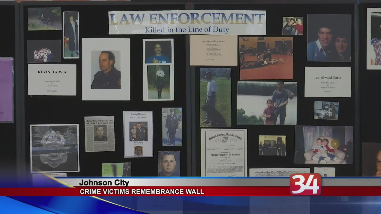 Crime Victims Wall