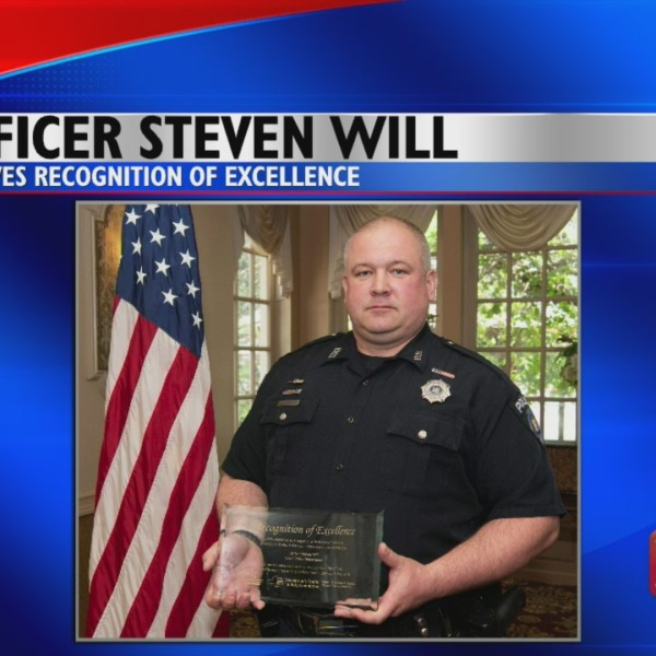 Vestal Policeman Honored
