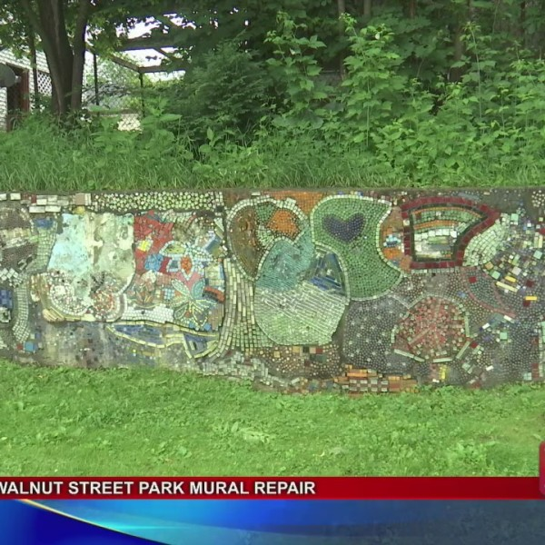 Walnut Park Mural Repair