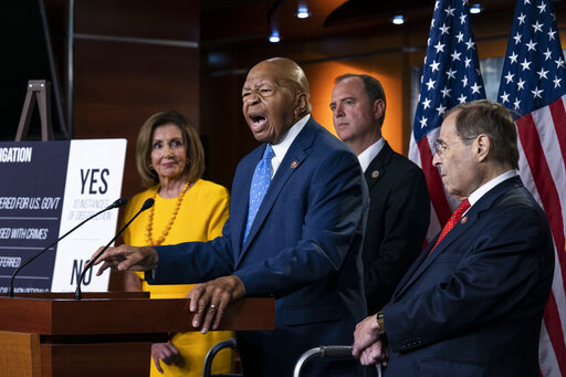 Adam Schiff, Nancy Pelosi, Elijah Cummings, Jerrold Nadler