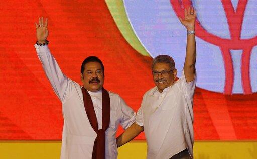 Mahinda Rajapaksa, Gotabaya Rajapaksa