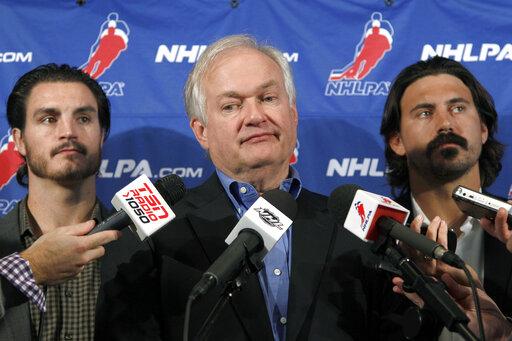 Donald Fehr, Kevin Westgath, George Parros