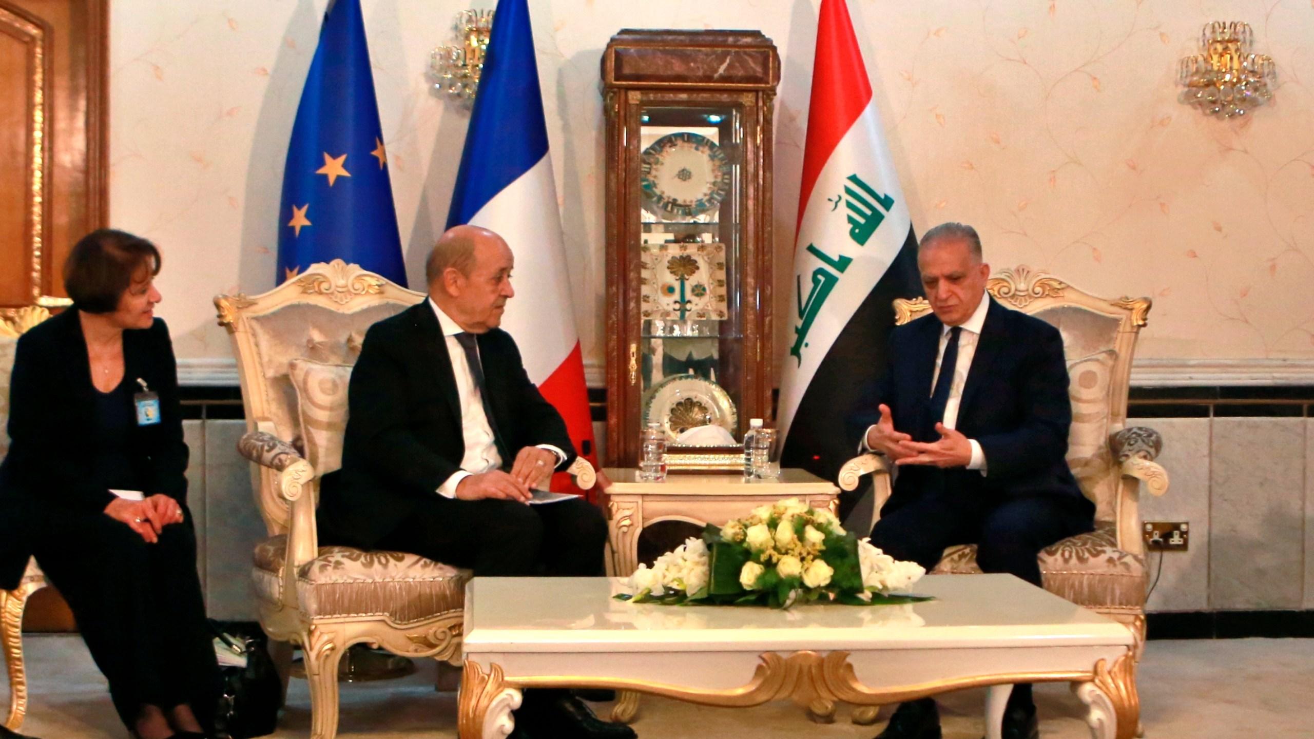 Mohamed Alhakim, Jean Yves Le Drian