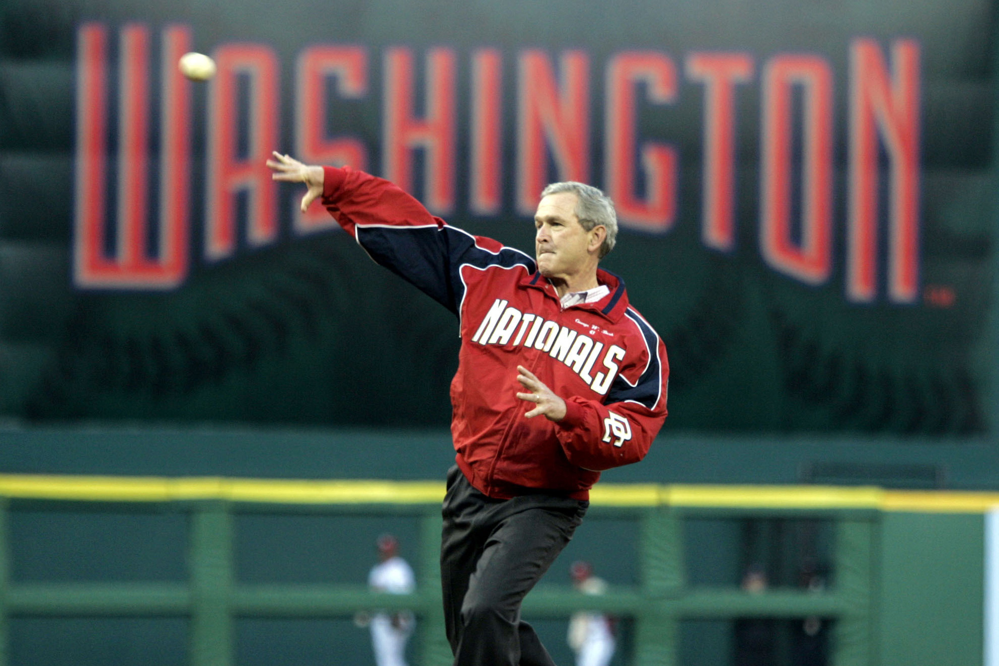 baseball, first pitch, president, opening day
