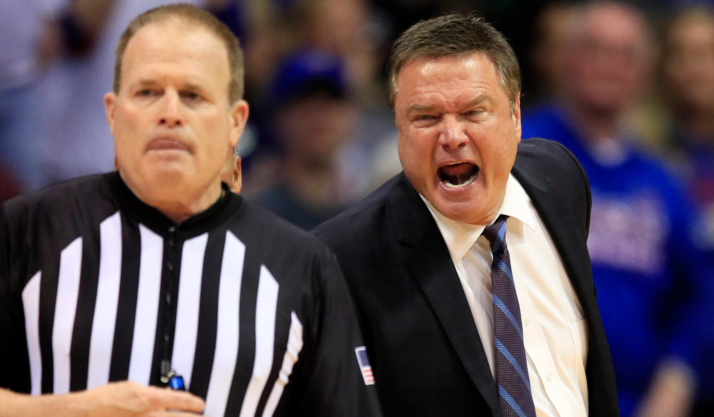 Bill Self, Gerry Pollard