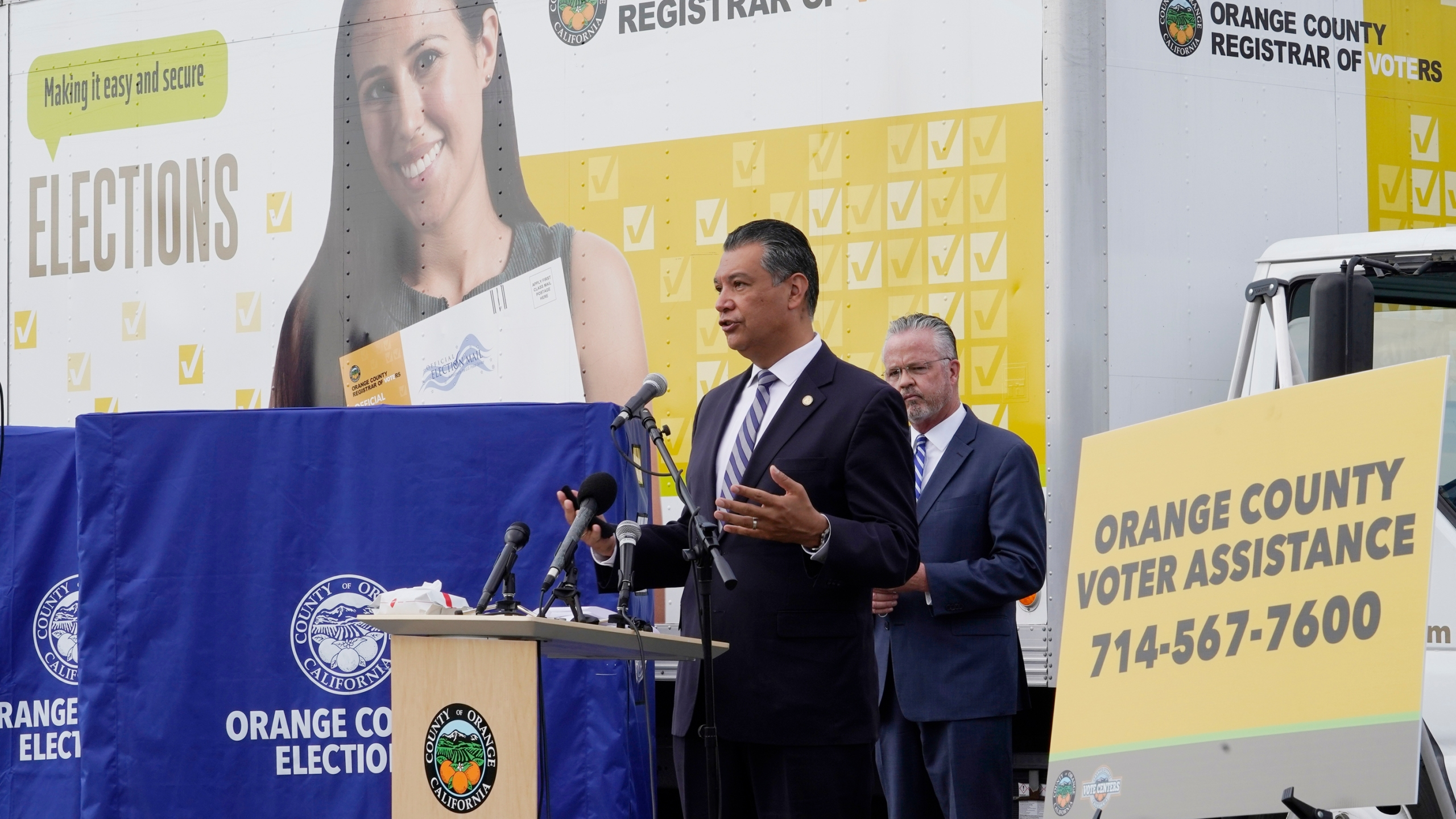 Alex Padilla, Neal Kelley